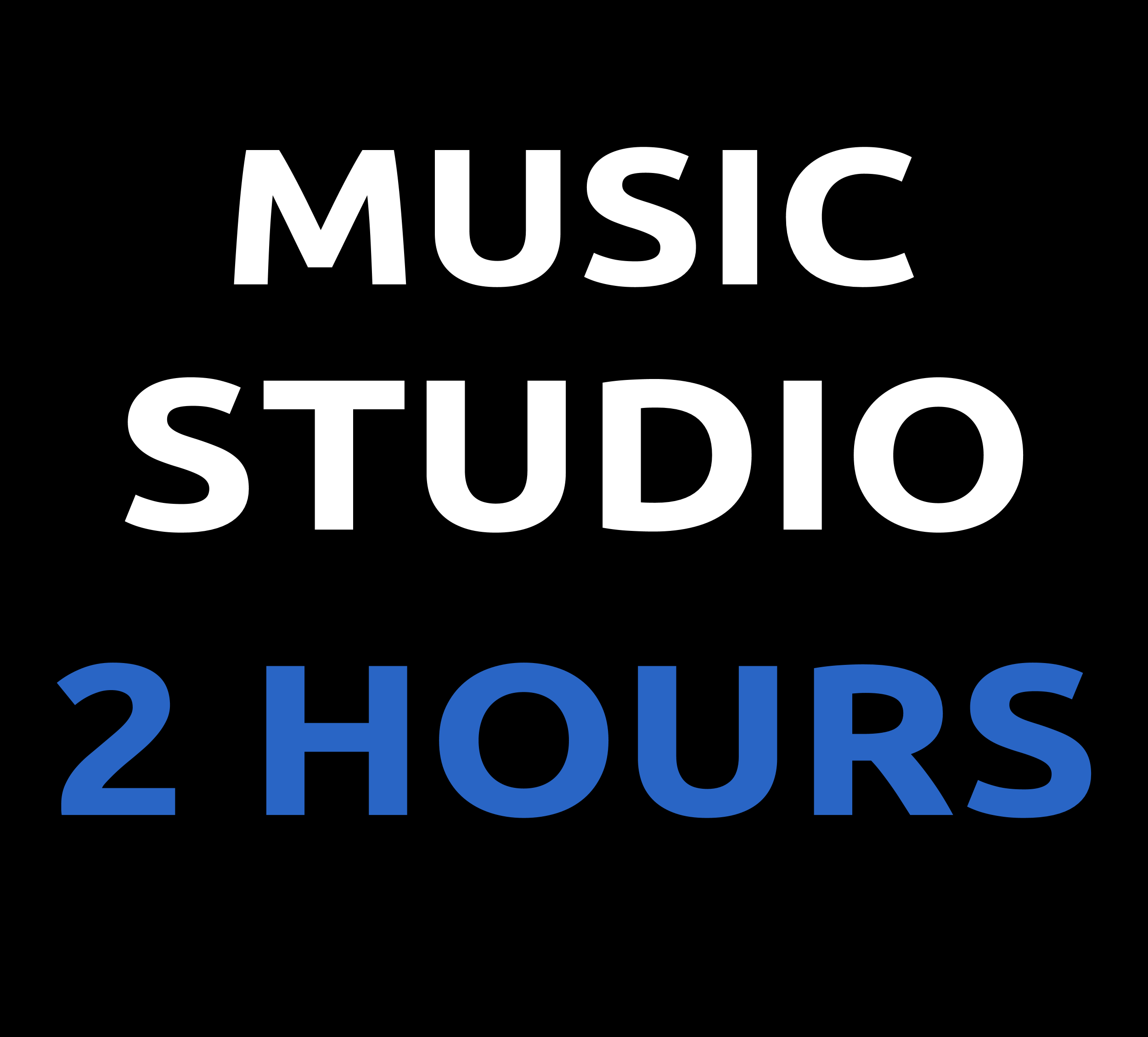 STUDIO TIME- 2 HOURS 01