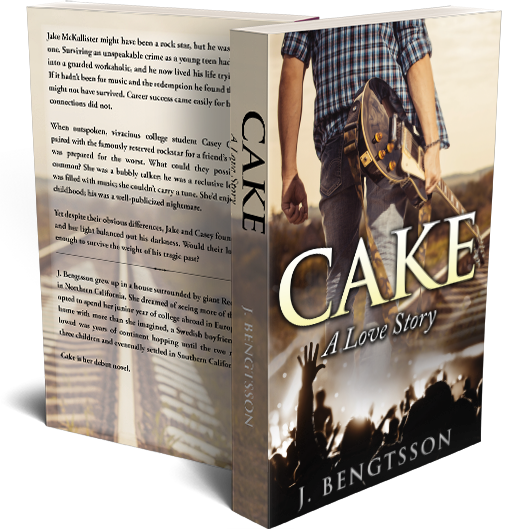 CAKE: A Love Story Signed Paperback 00000