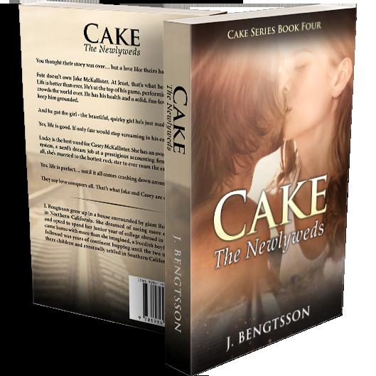 CAKE: The Newlyweds Signed Paperback 00003
