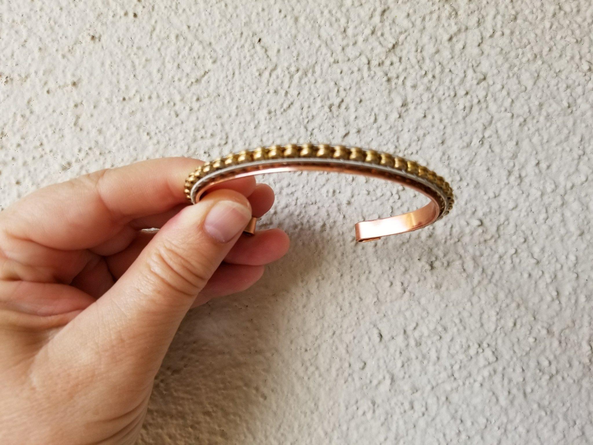 Guitar String Cuff Bracelet