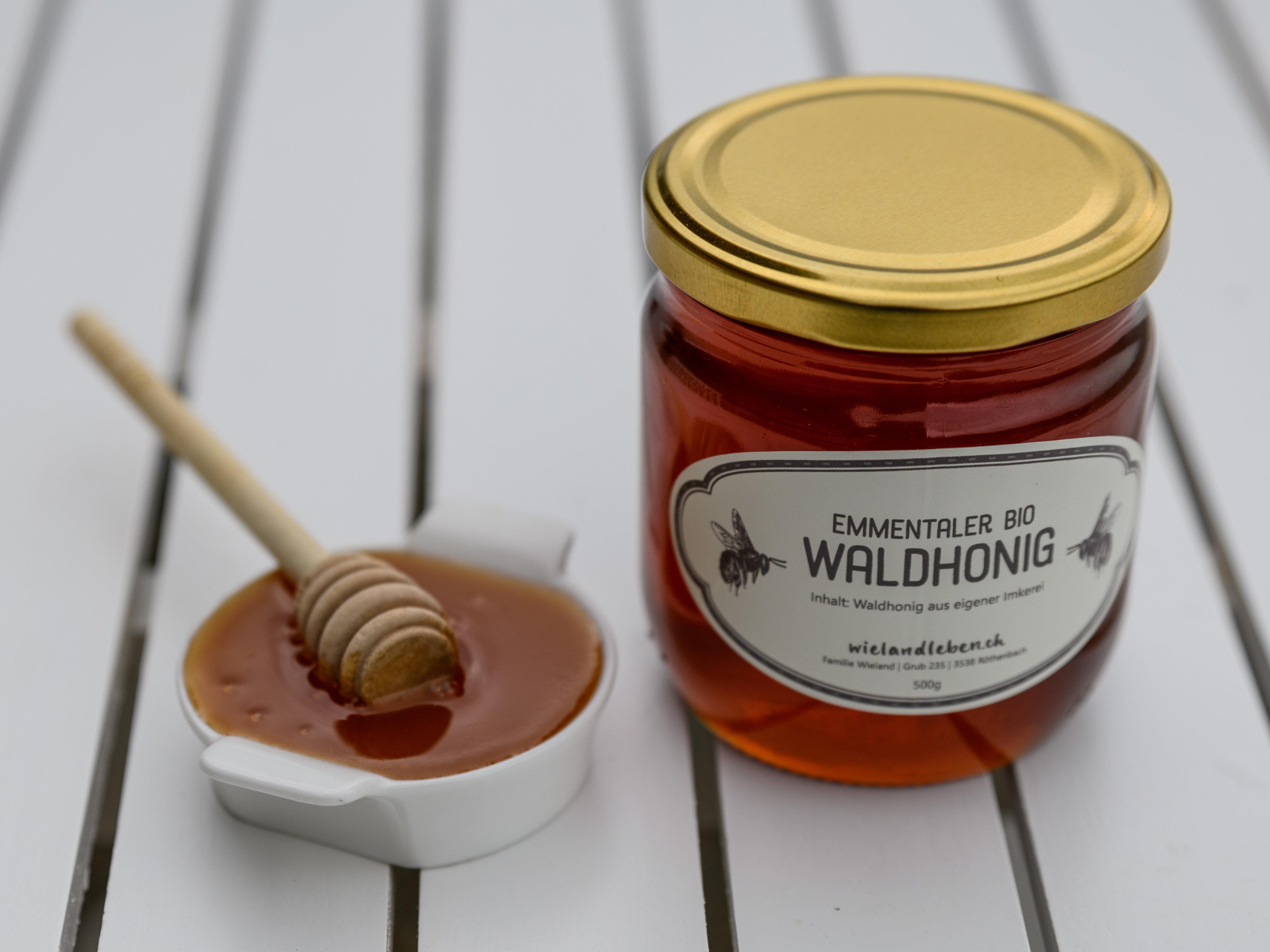 Emmentaler Bio in Umstellung Waldhonig