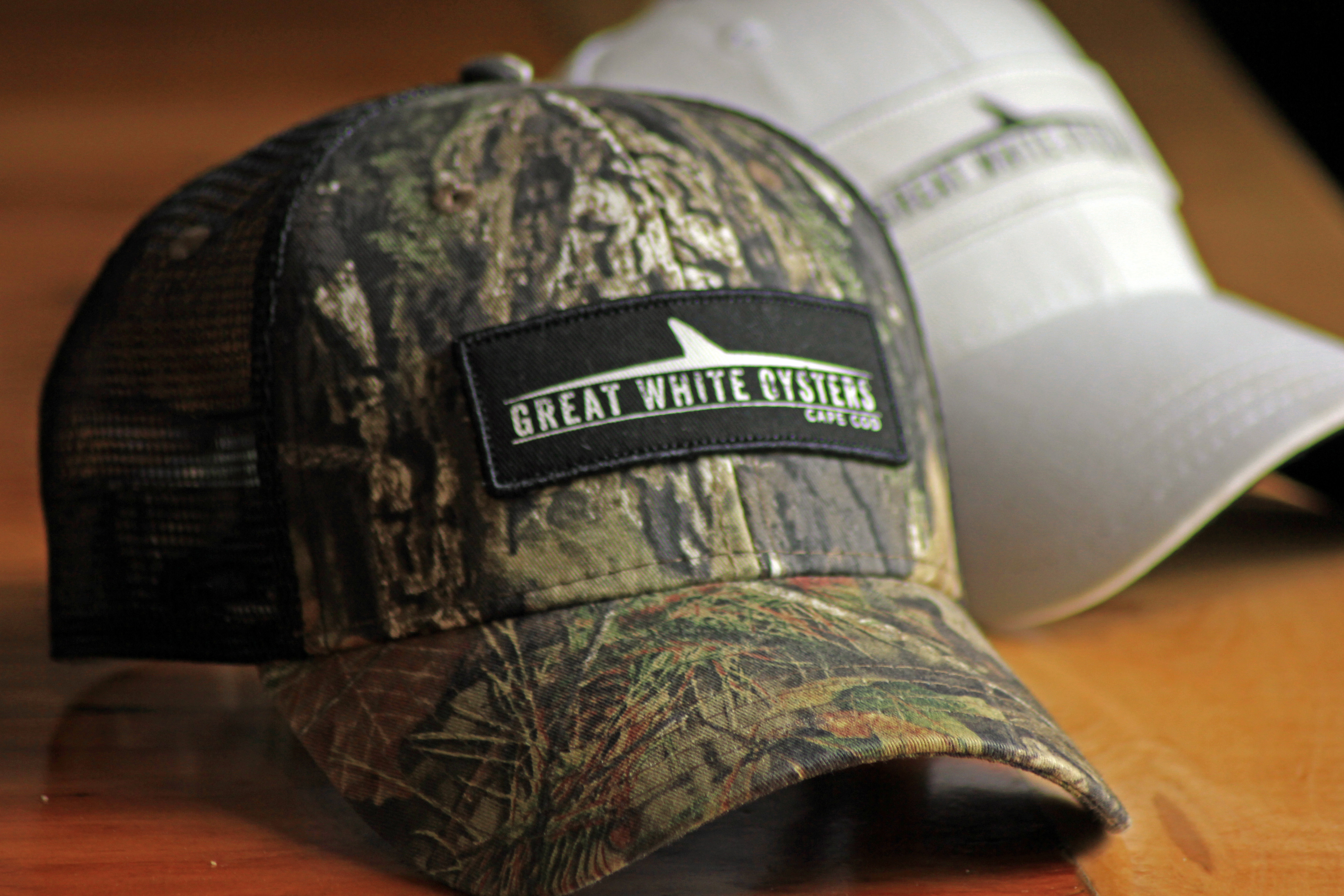 Great White Oysters Hat - Realtree Camo 00006