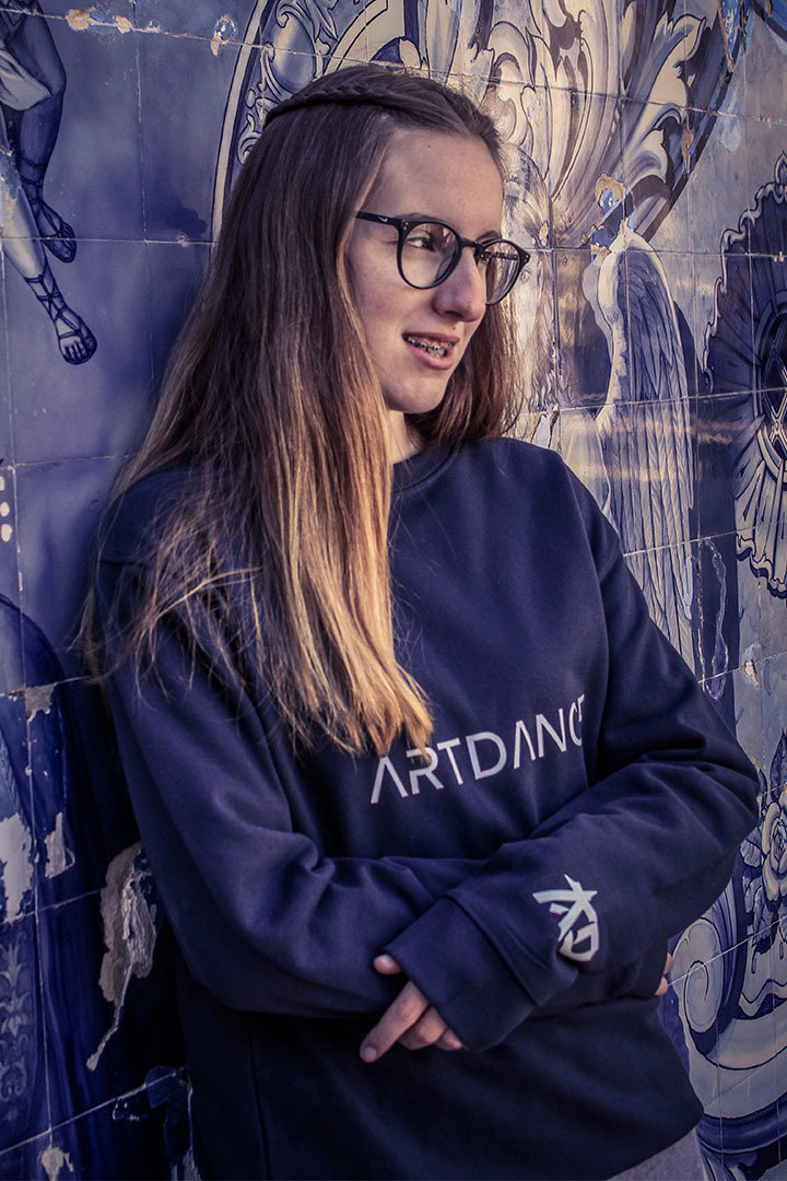 Camisola azul ArtDance