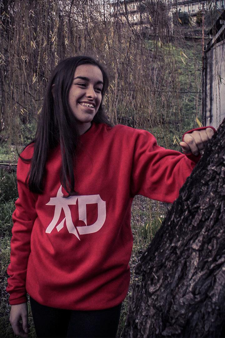 Camisola vermelha AD