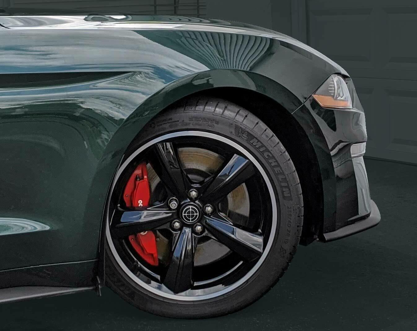 2020 Ford Mustang Bullitt Wheels