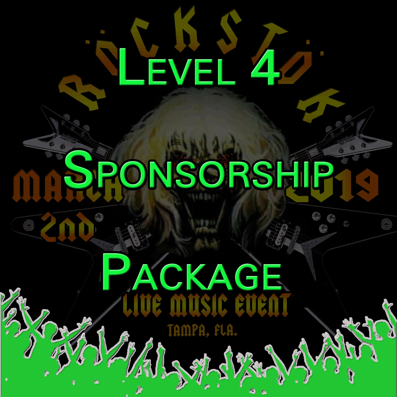 Level 4 Sponsorship Package Level4