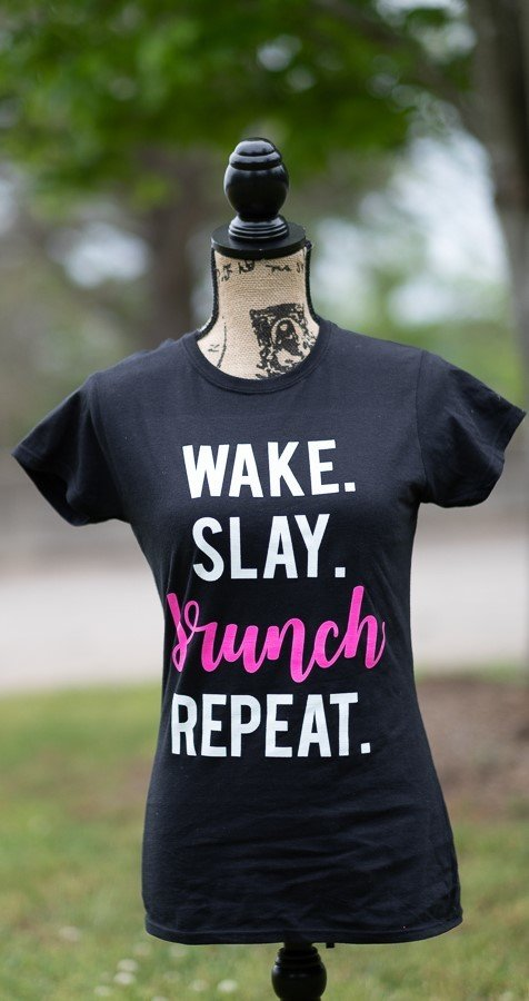 "'Wake Slay Brunch Repeat"" Tee"