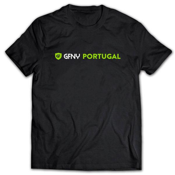 T-Shirt GFNY PORTUGAL Black