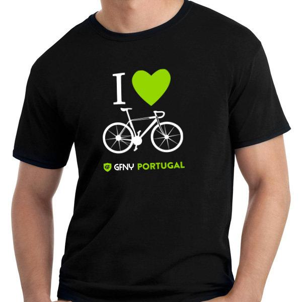 T-Shirt I Love Bike T002