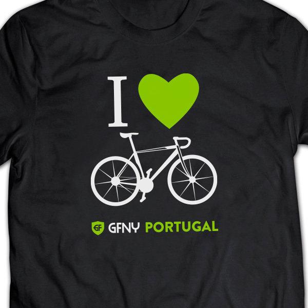 T-Shirt I Love Bike