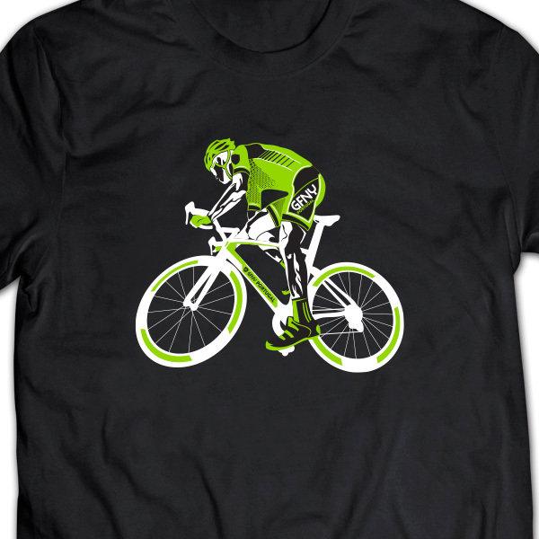 T-Shirt Ciclista Black