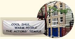 The Actors' Temple Store