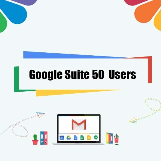 Google Suite Legacy - 50 User 00000