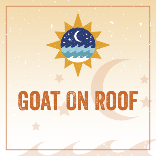Goat On Roof REG01