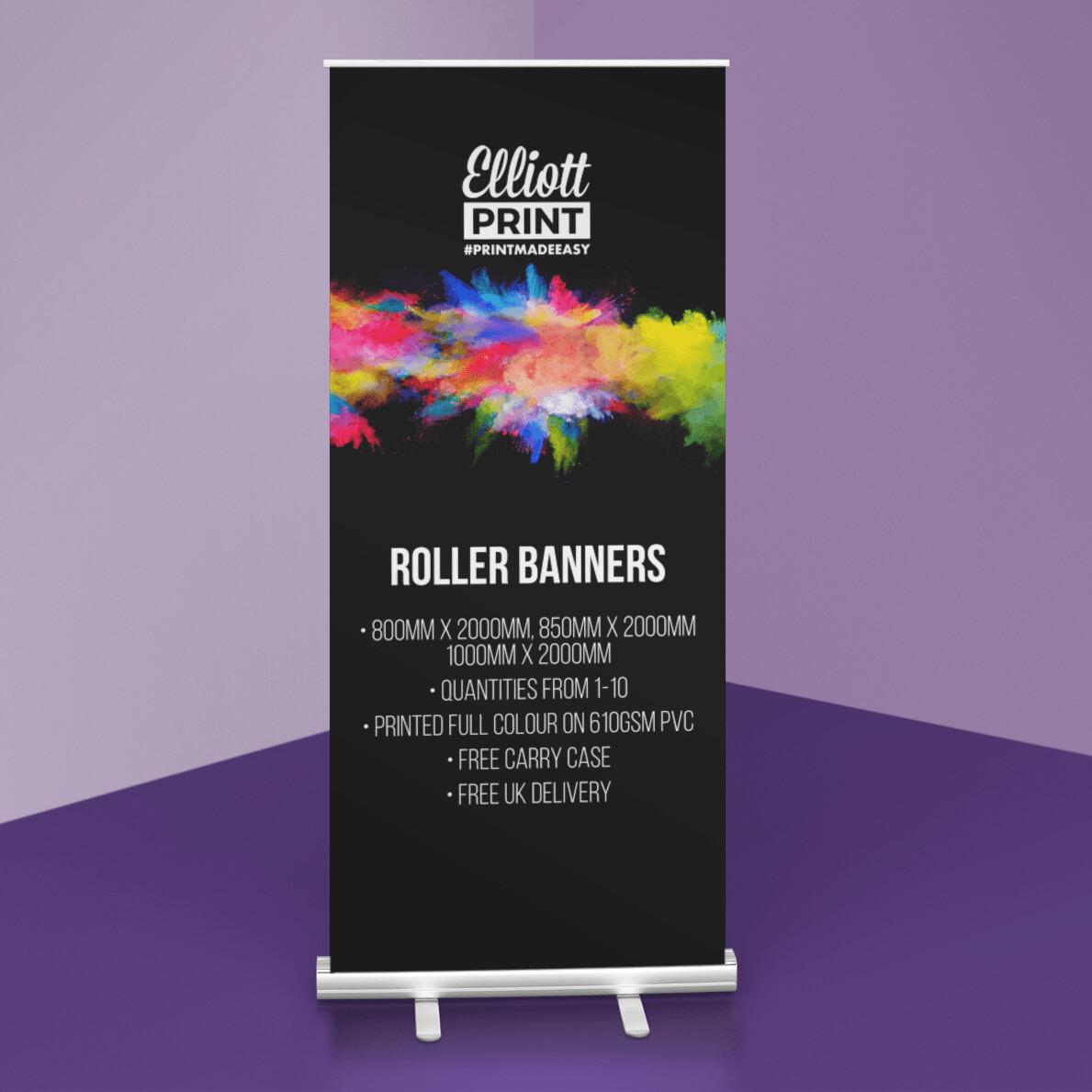 Floor Standing Pop Up Roller Banner