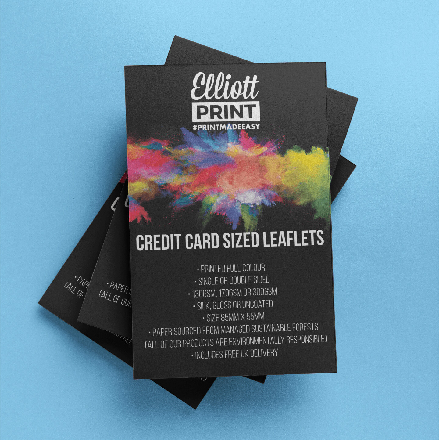 Credit Card Size Flyers