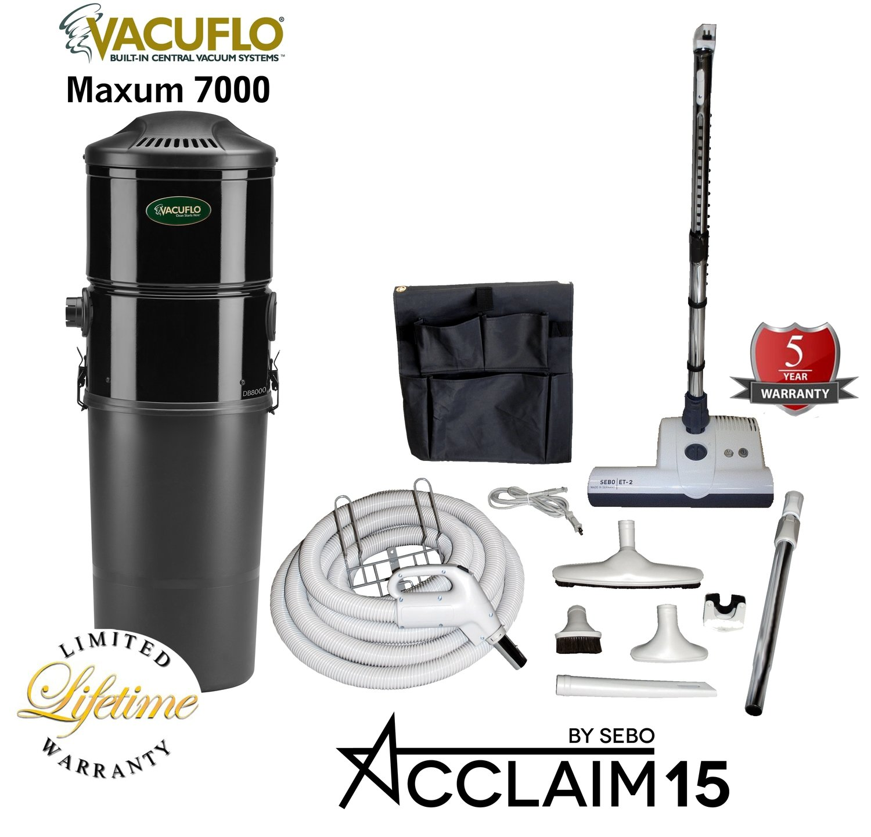 Central Vacuum Premium Package