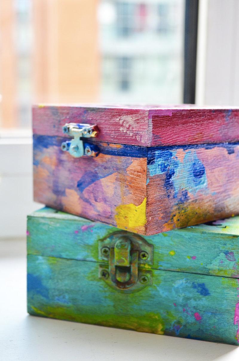 Splash box (Burgundy)