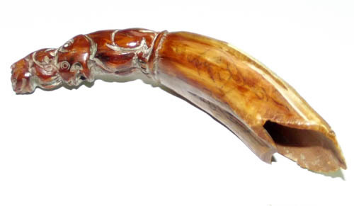 Boars Tusk Animist Charm by Luang Por Phern
