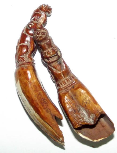 Luang Por Phern boar tusks