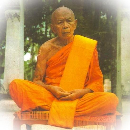 Luang Phu Tim Issarago Wat Laharn Rai