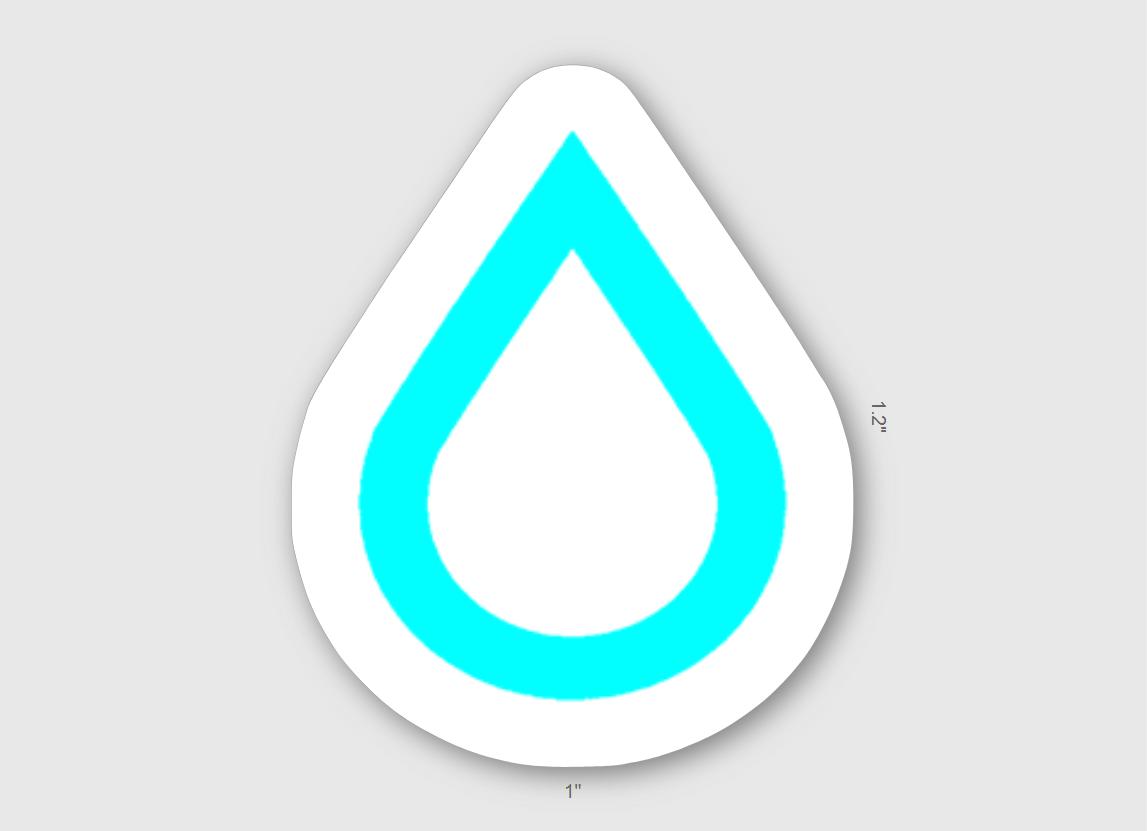 Thurst Logo Sticker 5 Pack 00007