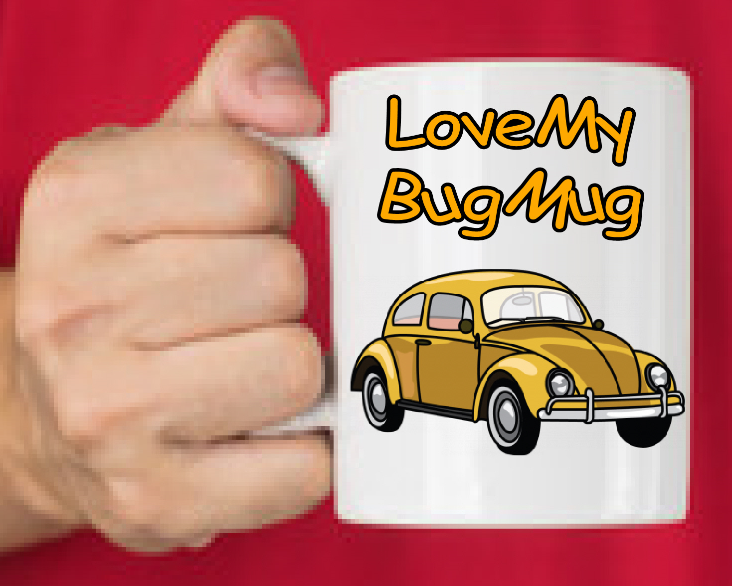 Love My Bug Mug 00000