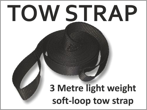 Tow Rope \ Strap (3m) 00006