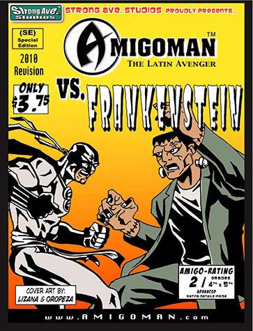 AMIGOMAN vs. Frankenstein 5003