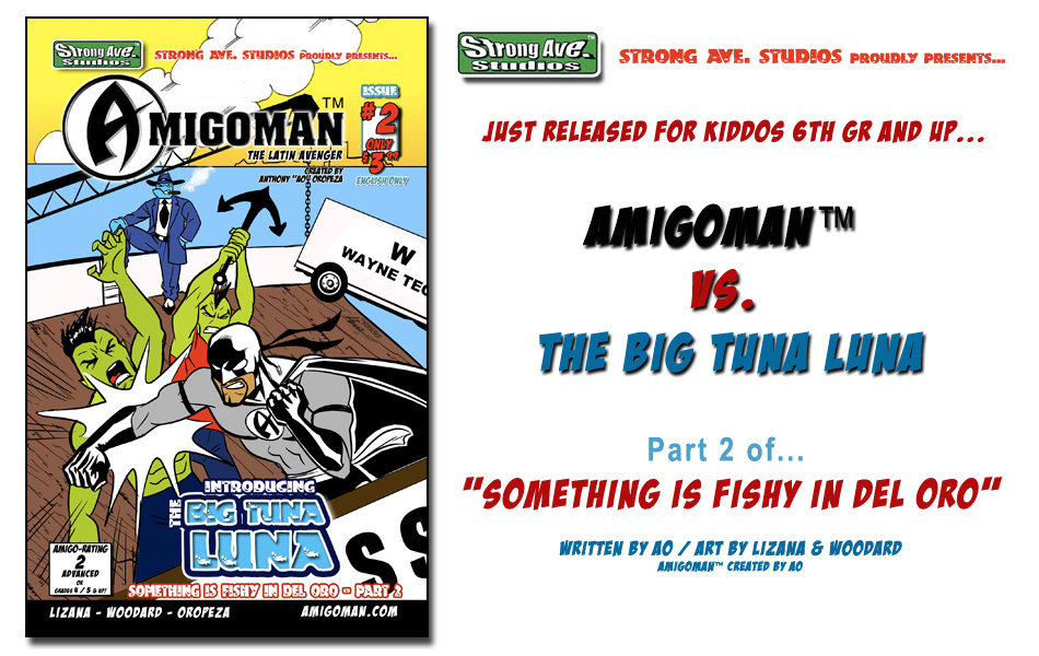 AMIGOMAN™ vs. Big Tuna Luna Promo