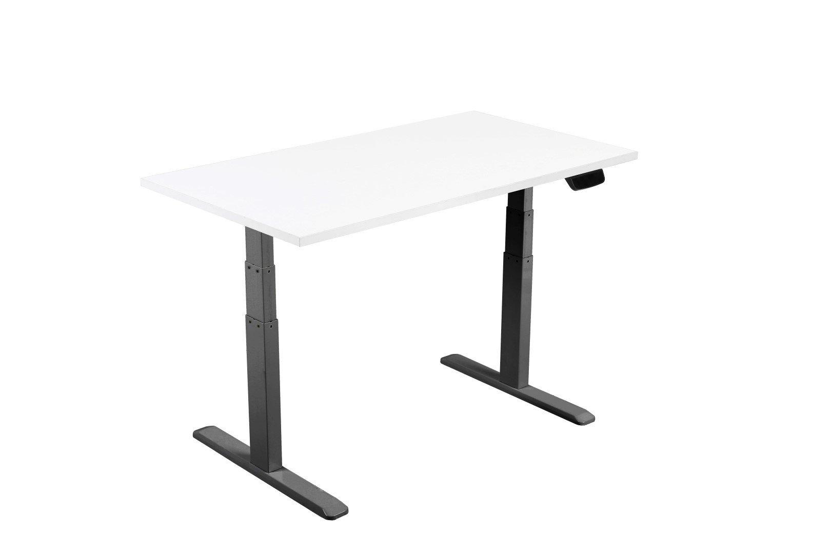 E-Desk graphite frame and bench top