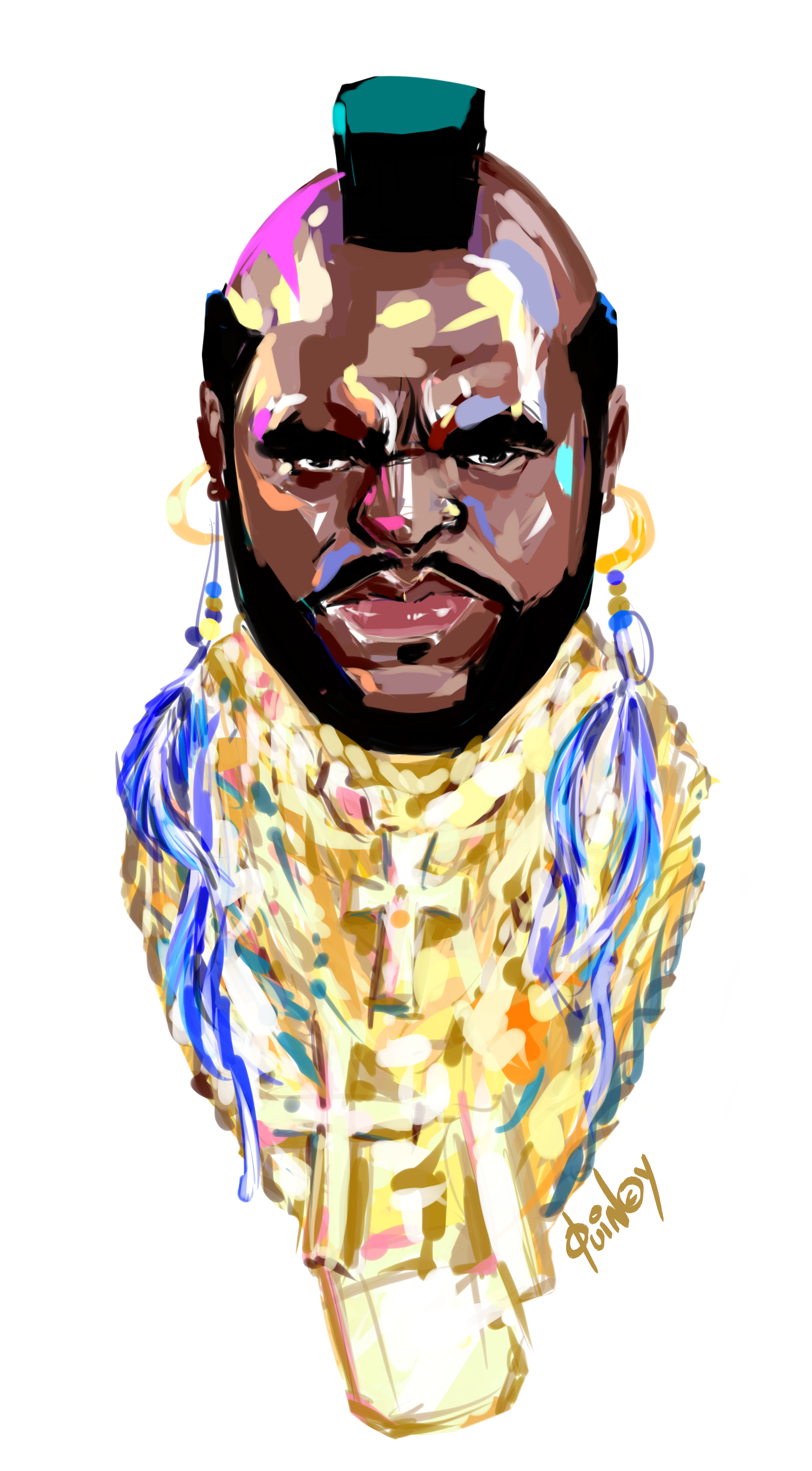 "Mr. T ""Pity the fool"" T-shirts 0002"