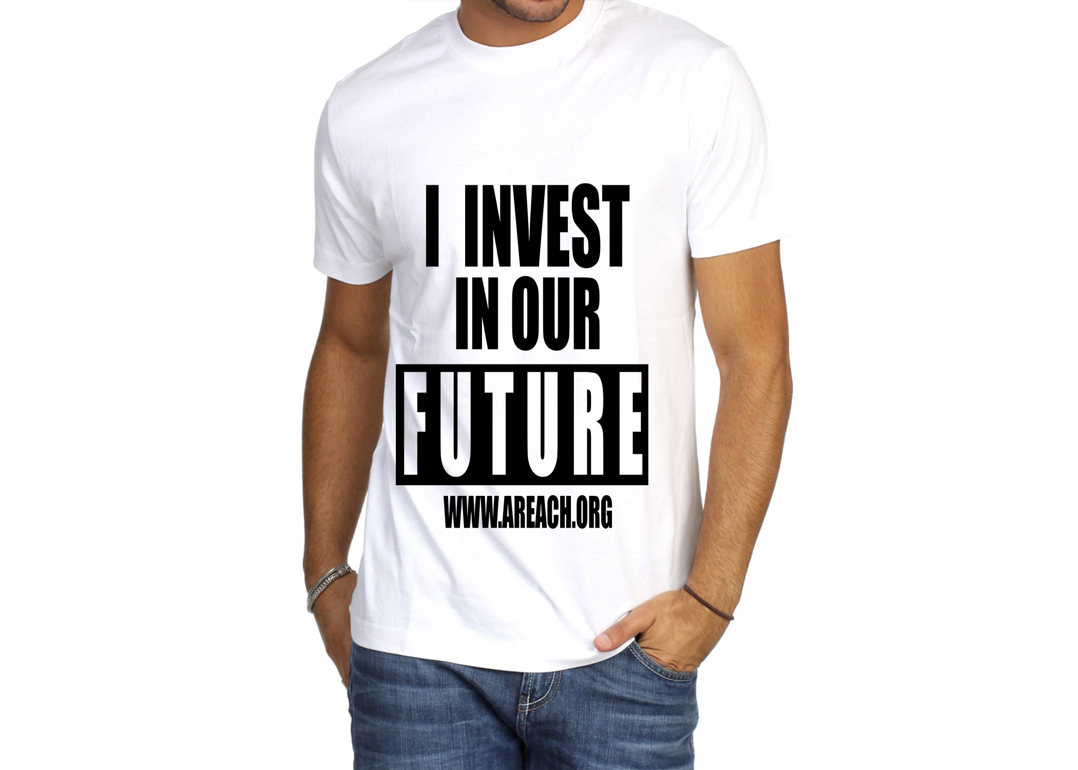 I Invest  In Our Future T-Shirt 00000