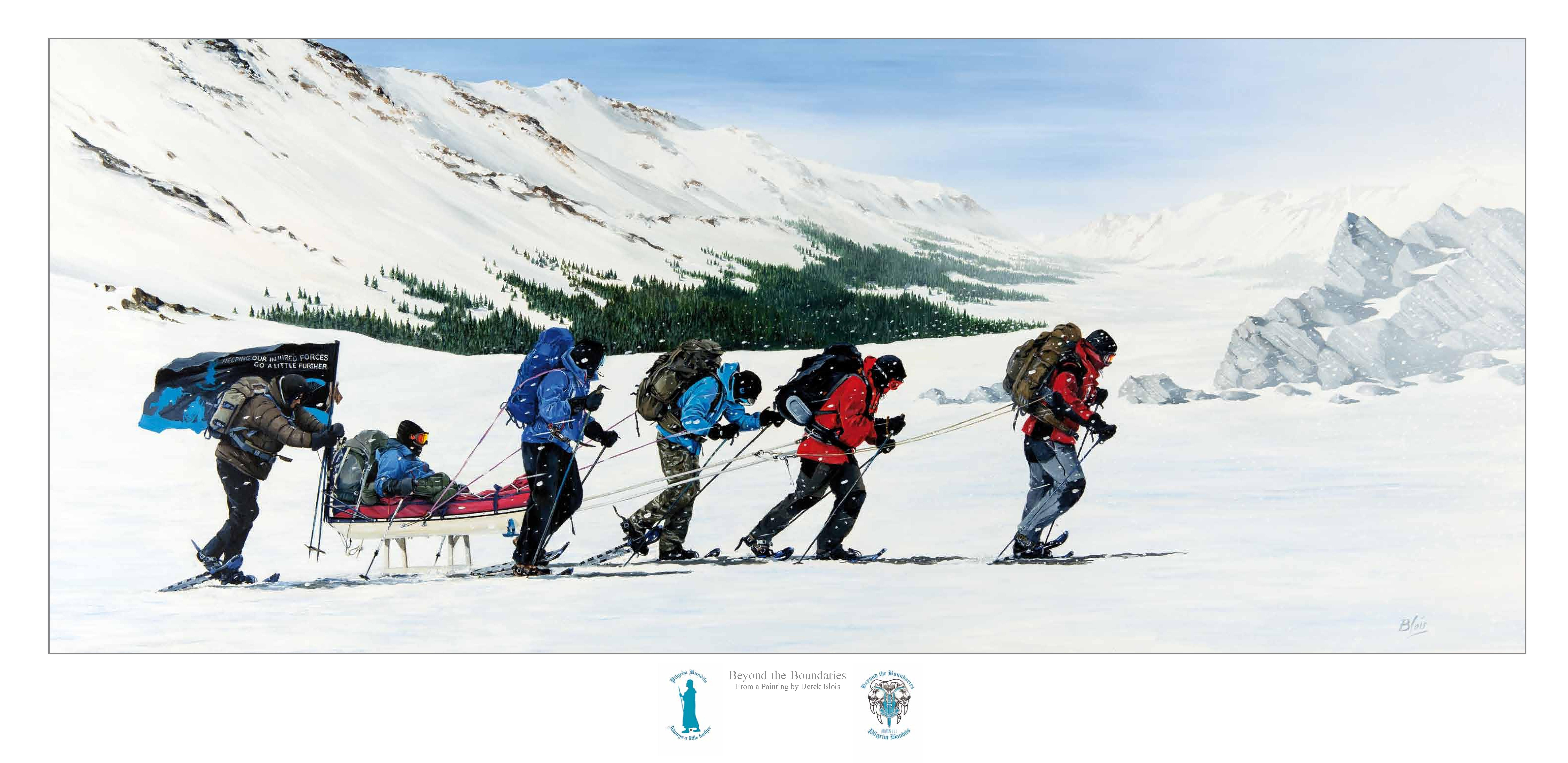 Telemark Expedition Limited Print 100
