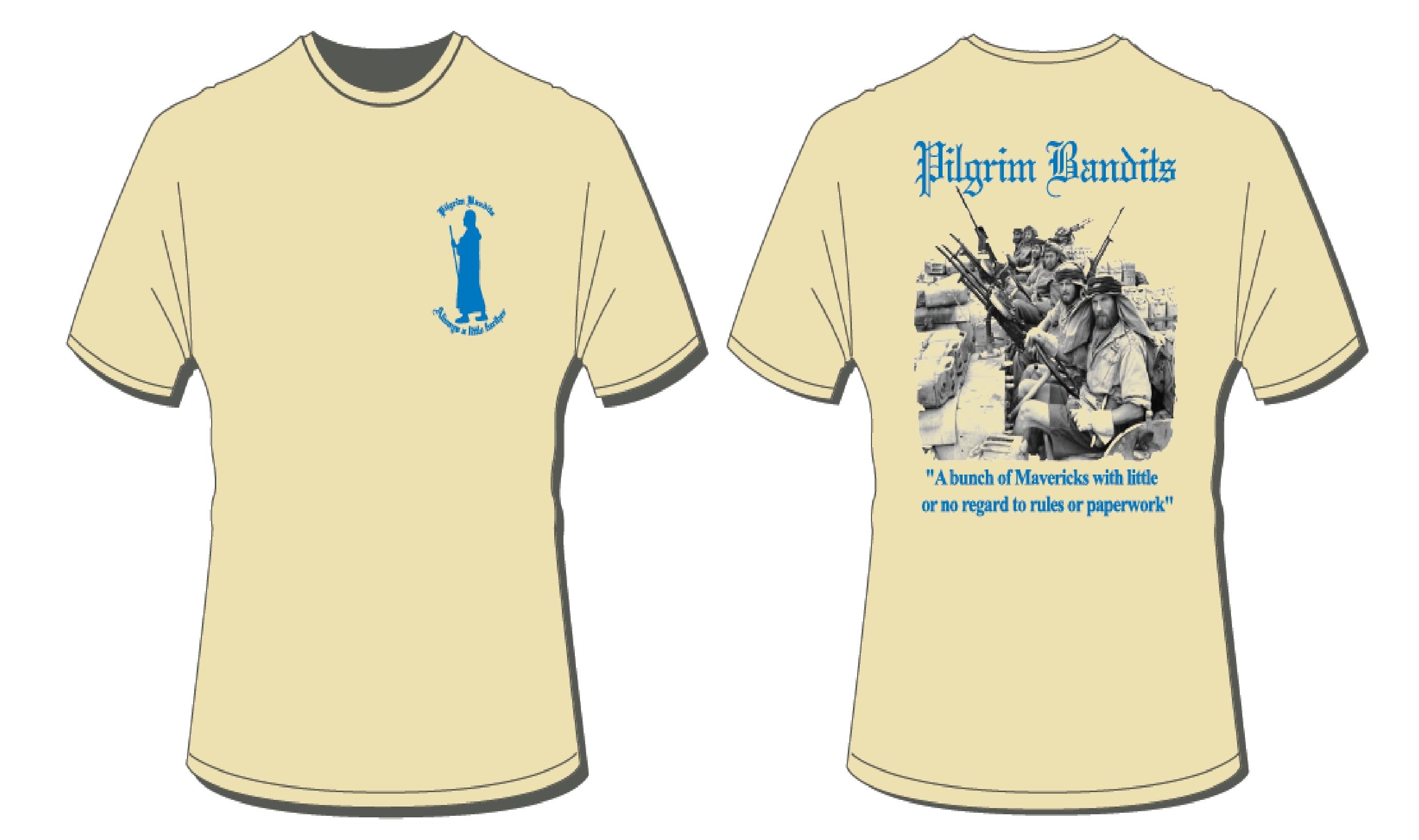 "Cotton T-Shirt Sand ""Mavericks"" 08"