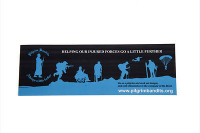 Pilgrim Car Sticker