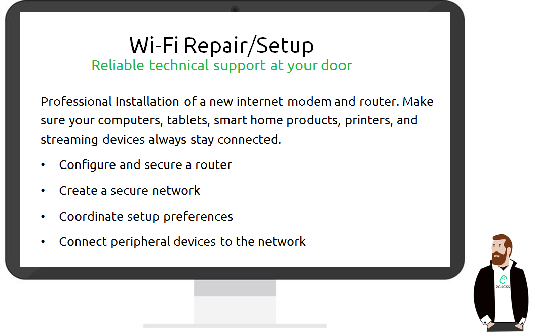 Wifi Setup/Repair