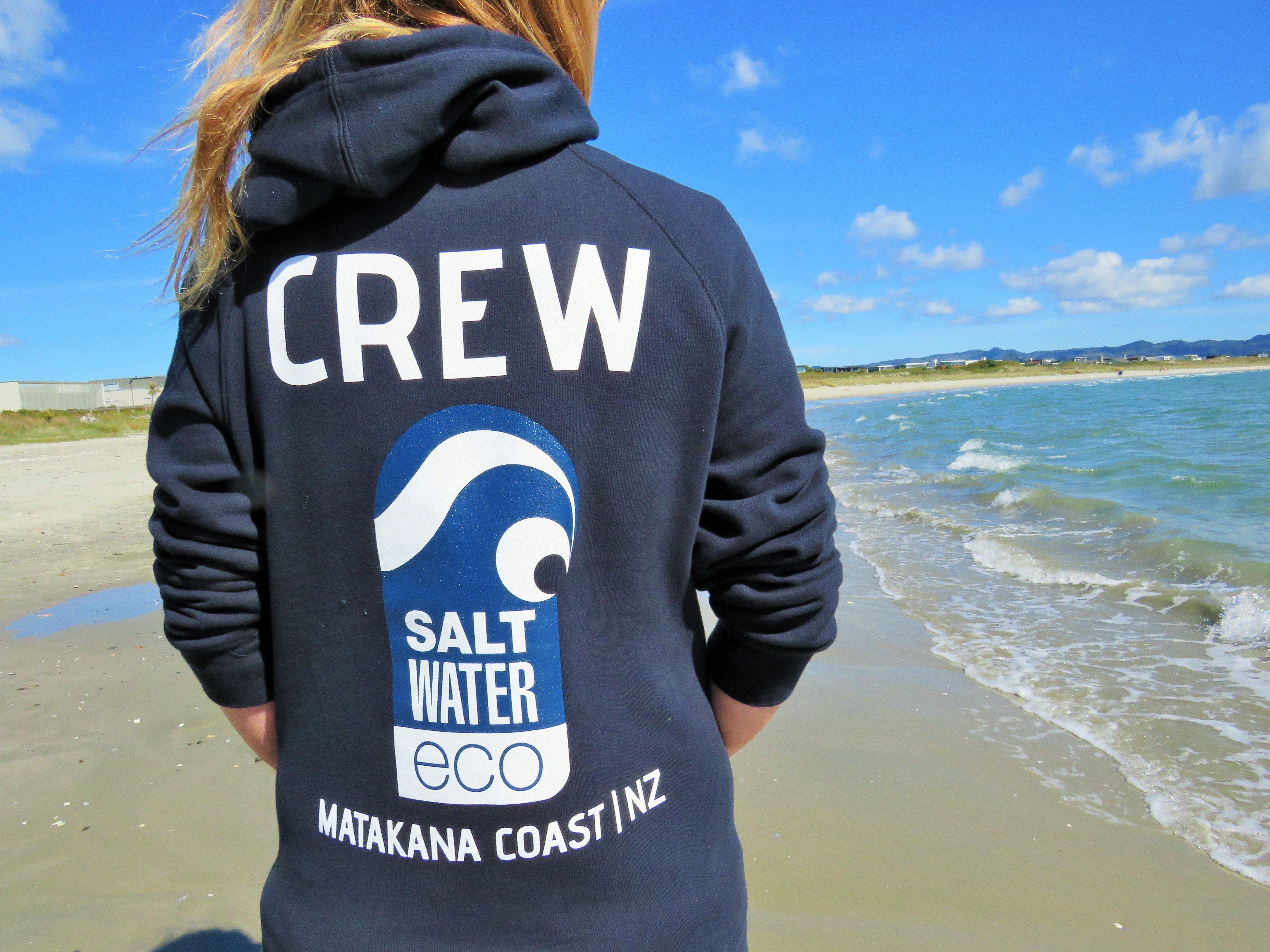 Saltwater Eco Crew Hood 00003