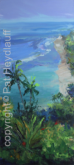 Beach View from Above CNV181 / 12x24