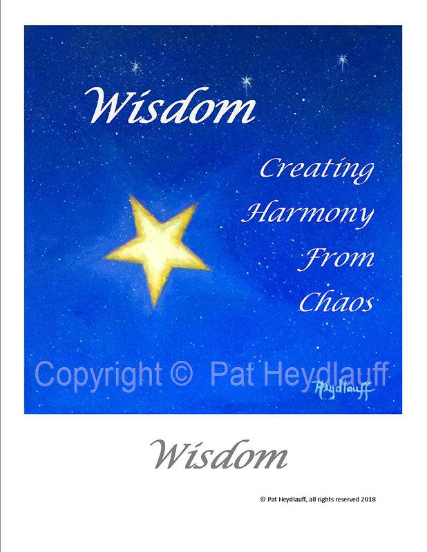 Wisdom   8.5 x 11 FAP204