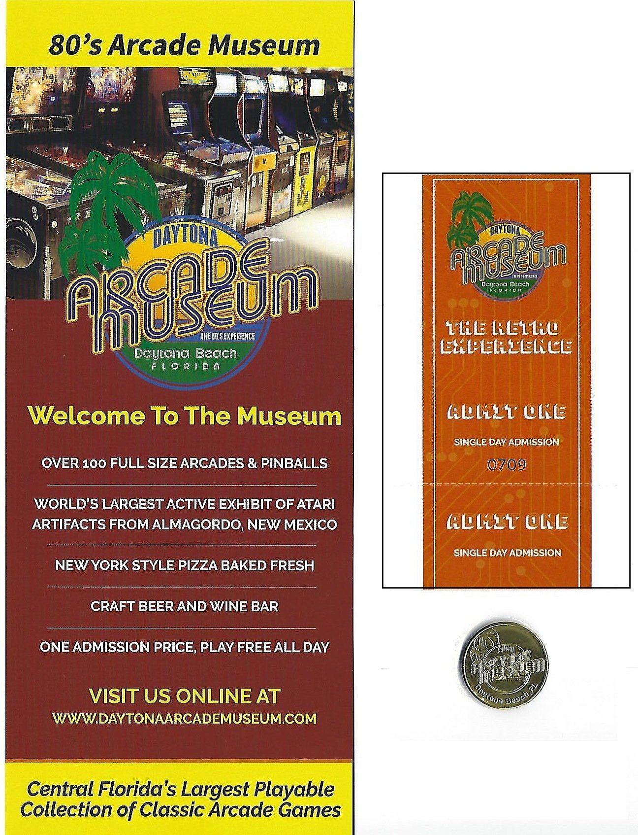 Child 15 Day Museum Admission Ticket Pass Pack 000011