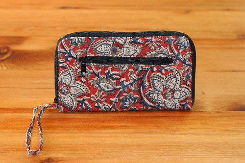 Red Floral (Limited Edition) Padded Wallet