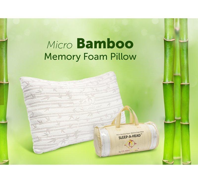Bamboo Memory Foam Pillow 0000010