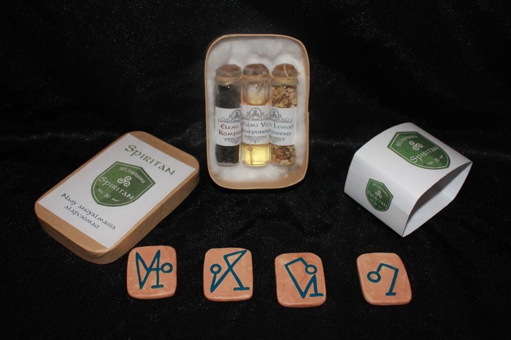 Elemi mágia csomag arkangyal jeltáblával .:. Deluxe csomag emcsad