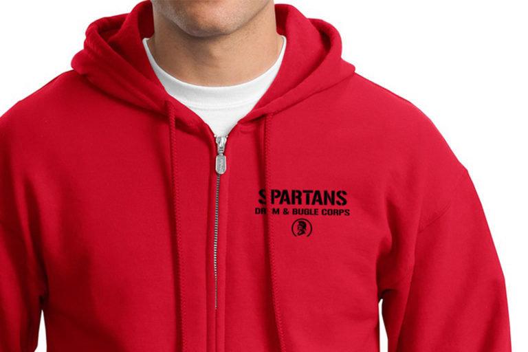 Spartans Zip Hoodie 00000