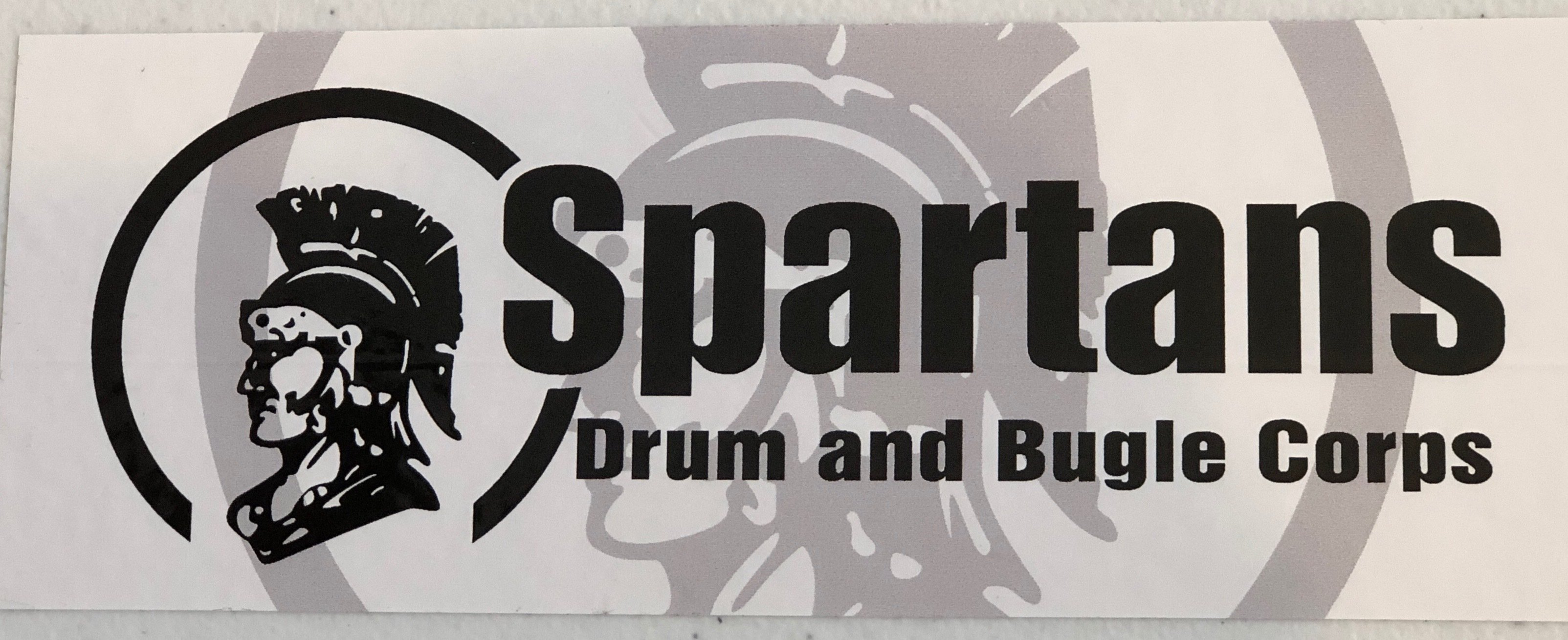 Spartans Bumper Sticker 00010