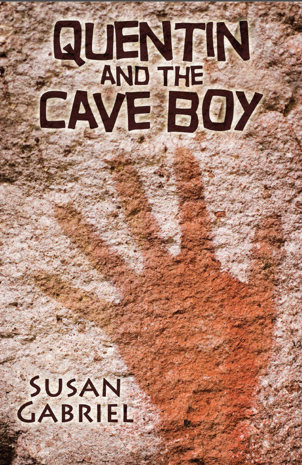 Quentin and the Cave boy - paperback, autographed by author 009