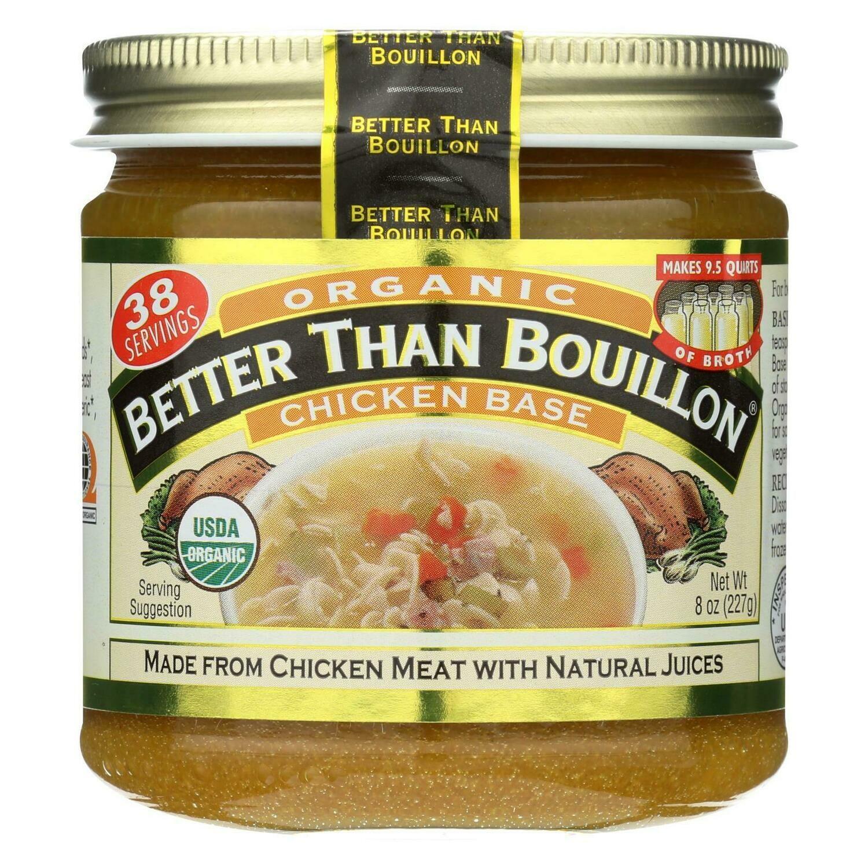 Better Than Bouillon Organic Seasoned - Chicken Base ...