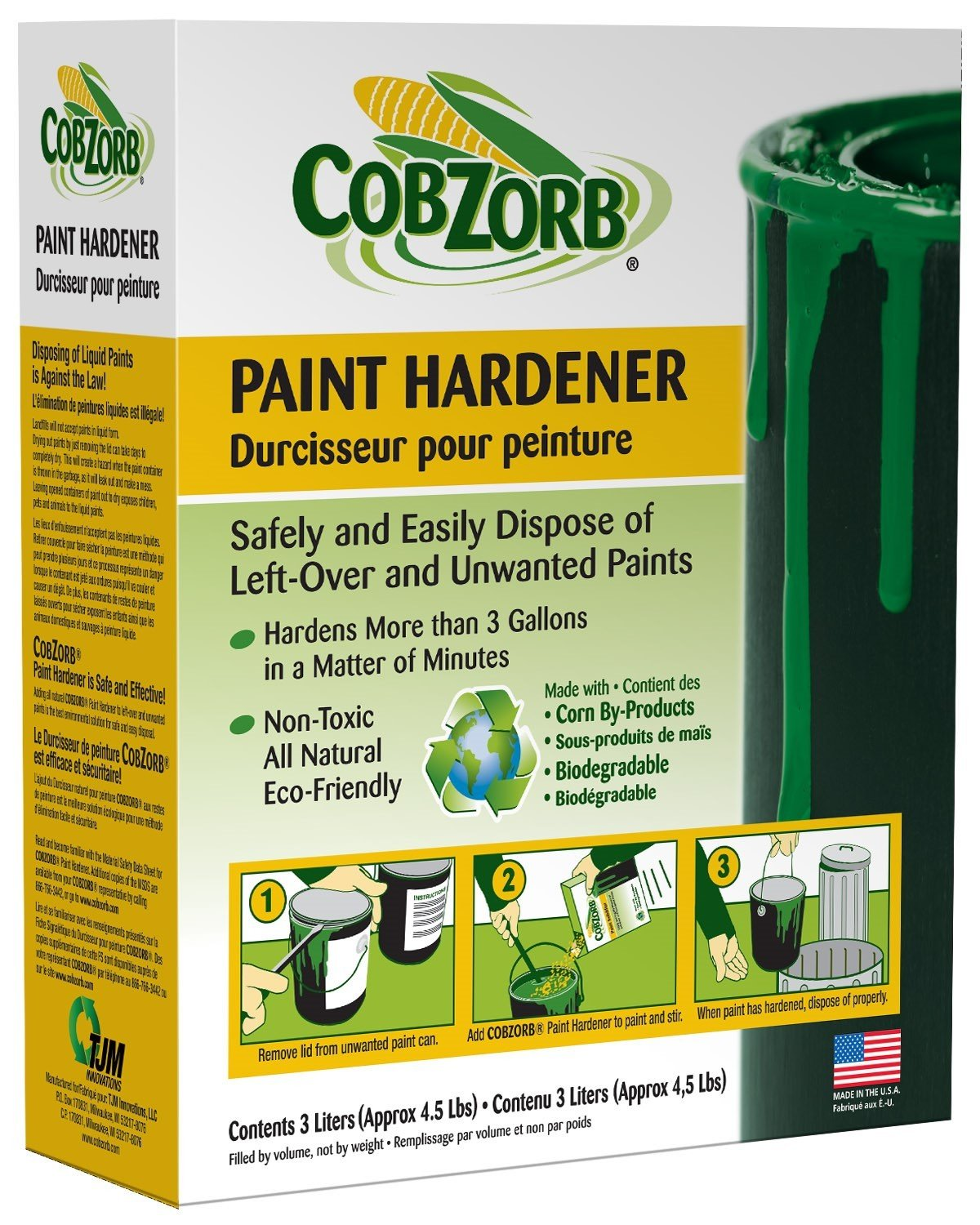 CobZorb Paint Hardener 4.5 lb. Box CZP-box 4.5-DS