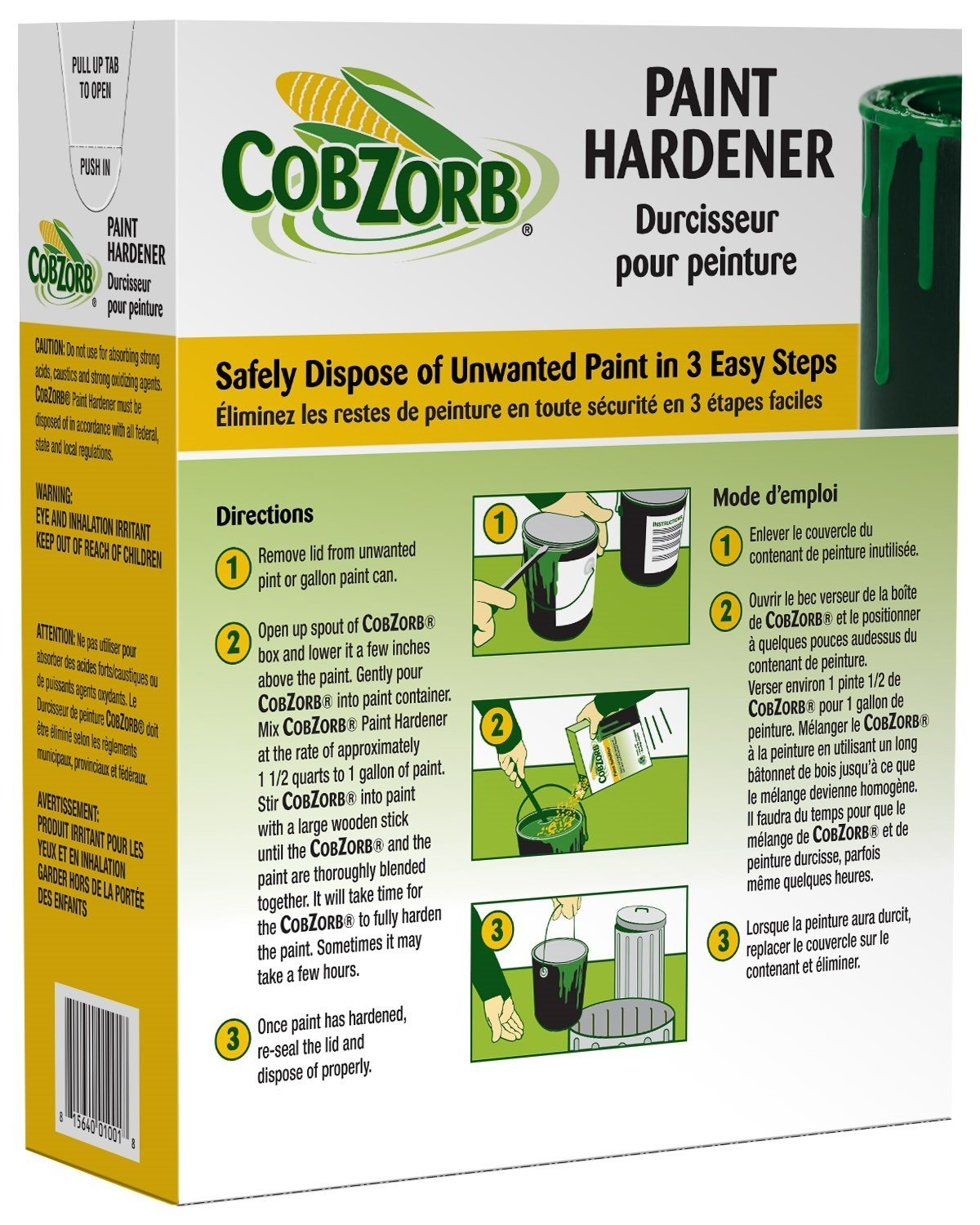 CobZorb Paint Hardener 4.5 lb. Box